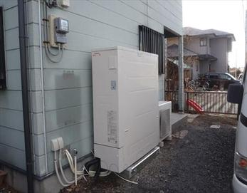 給湯器を新しく、オール電化にしました! 日立 BHP-FS37LD