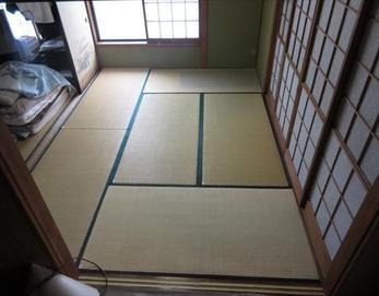 全体的にキレイな畳に生まれ変わりました!(^^)/