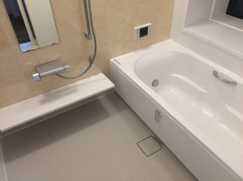 お風呂の改修で毎日気持ちいい!