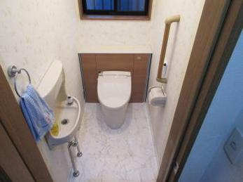 きれいなトイレは落ち着きます