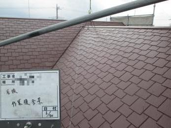 色味を変えない屋根塗装も