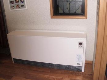 身体に優しく安全との事で人気が急上昇の、蓄熱式電気暖房器です!
