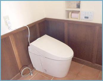 トイレはTOTOネオレストを設置しました(*^^*) タンクレスでスッキリしていますね!!