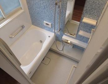 お風呂全体が明るく生まれ変わりました!(^^)/ 【ユニットバス型式】トクラス STORY 1216