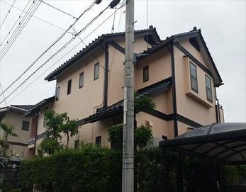 塗装により色合いが変わり、お家の印象が変わりました!(^^♪