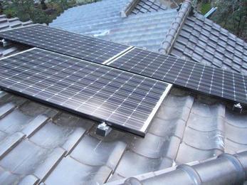 太陽を利用して発電、自然は利用してこそです!