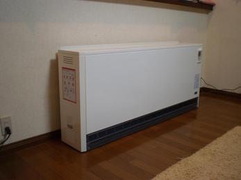 柔らかい温かさでお部屋を暖めるので身体に優しい暖房機です!