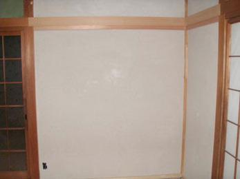 白の壁に塗り変えたことによって開放感がありますね!