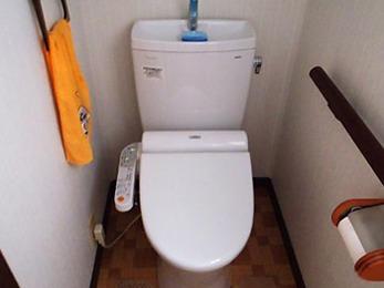 素敵なトイレになりました!