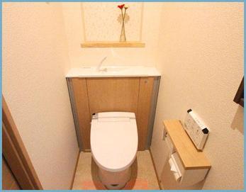 耐震リフォームのご依頼があり、戸建ての総リフォームになりました! まずは、トイレです☆