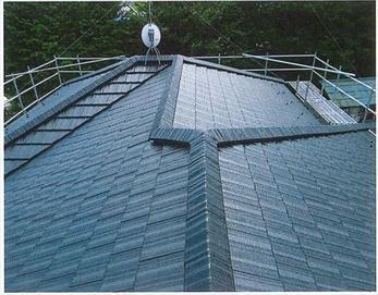 こちらは、屋根改修後の状態です。普段、見えにくい場所ですが、こんなにキレイになるものなんですね!(^^)/
