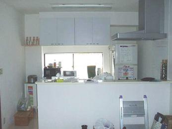 和室・洋室・台所を 広々ゆったりLDKへ(キッチン)