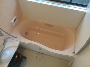 新しいお風呂で