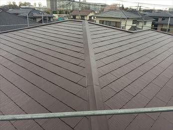 すっかり綺麗な屋根に