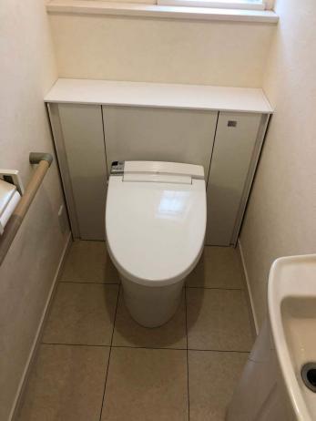 スッキリと片付いたトイレにしたい。