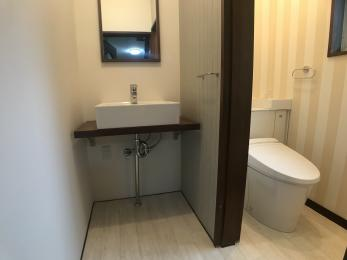 高齢者でも使いやすいよう、トイレをバリアフリーにしたい