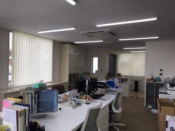 オフィスの内装を改修してほしい