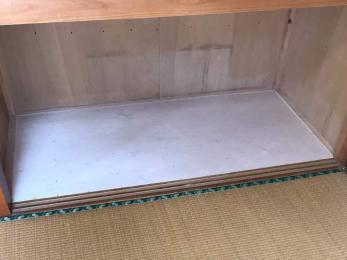 ボロボロになった押入れのベニヤ板を張り直したい
