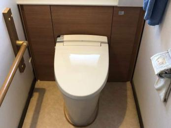 トイレをゆったり、スッキリと使いたい。
