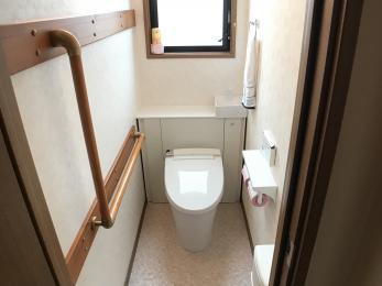 家族構成の変化に合わせて、トイレを新しくしたい