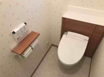 スッキリと片付いた印象のトイレにしたい