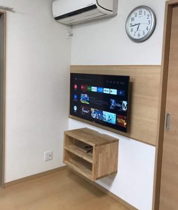 壁掛けテレビでお部屋スッキリ!