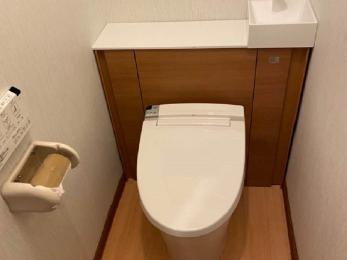 マンションのトイレリフォーム~掃除も楽に快適に~