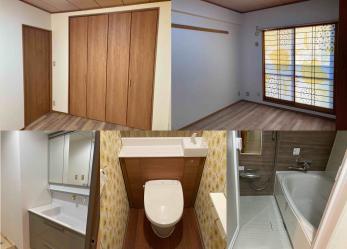 生まれ変わった水まわり空間!_キッチン・トイレ・内装リフォーム