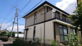 塗り替えでお家をイメージチェンジ!ツートンカラーでもっとおしゃれな外観に
