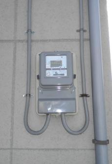 オール電化住宅に最適な、電化上手契約用メーターに交換しました