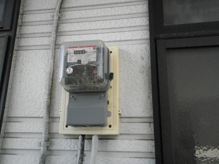 オール電化工事では、電気メーターも交換致します。