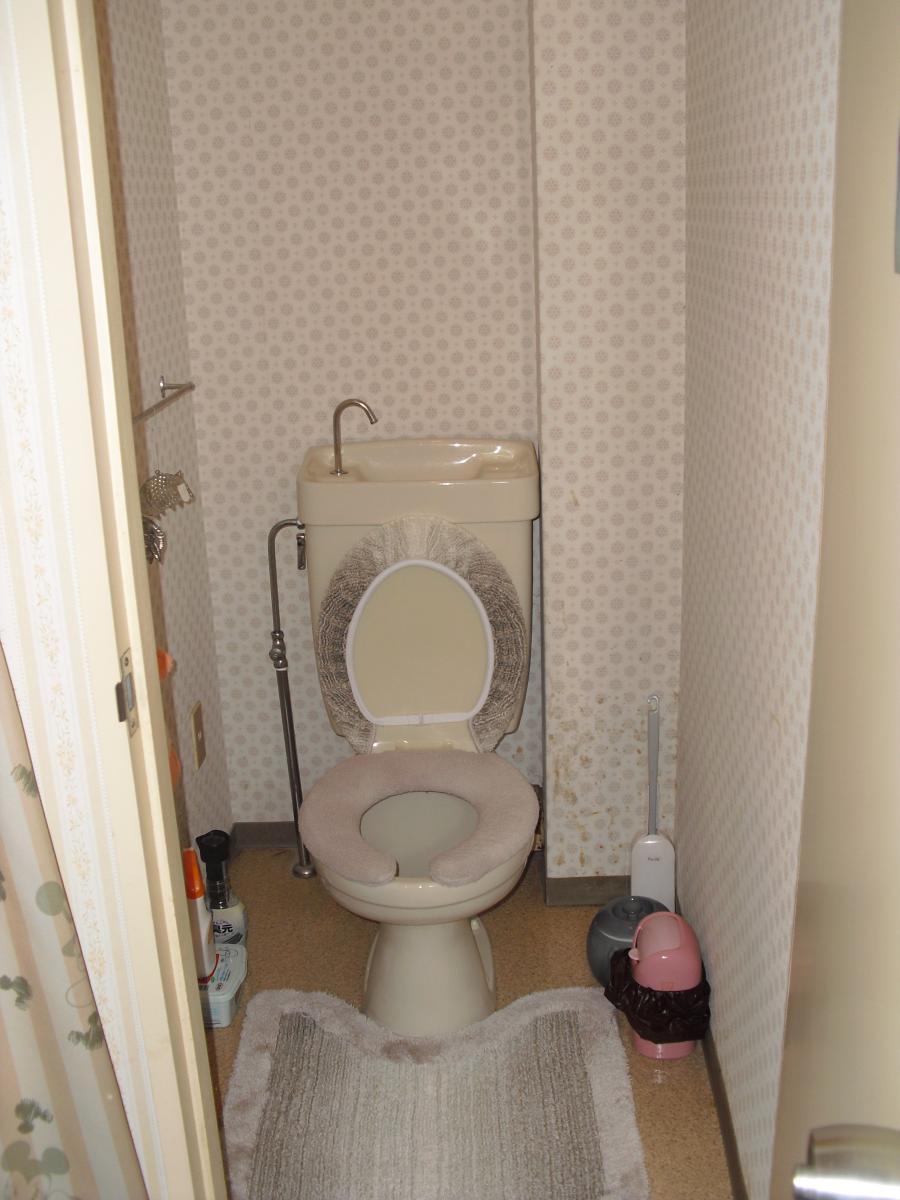 使い勝手が悪かったトイレも・・・