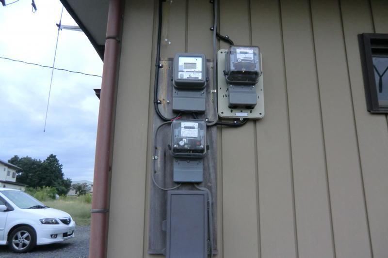売電メーターを取り付けて、いよいよ売電開始です!