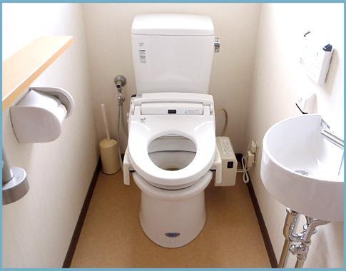 TOTOアメージュZを使用し、手洗いも取り付けました(^^)