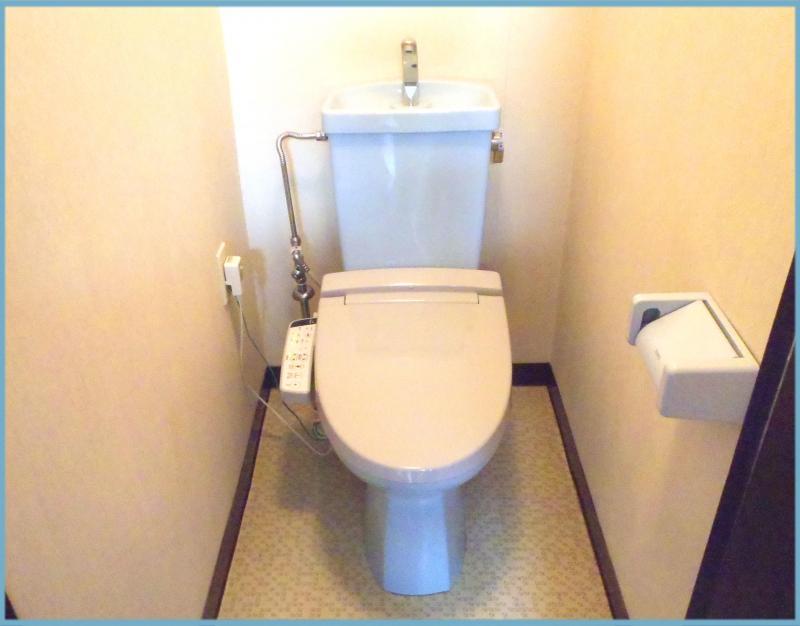 トイレも交換しました☆