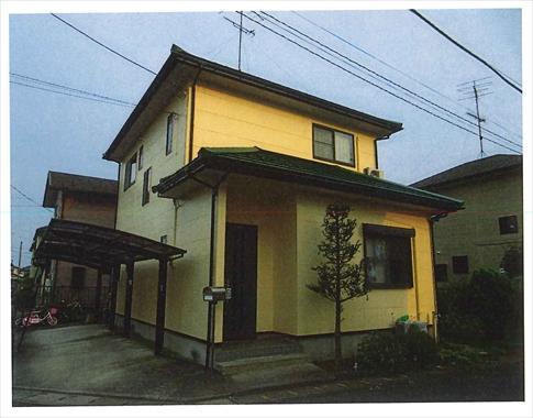 お家の壁も鮮やかに!(*^▽^*)