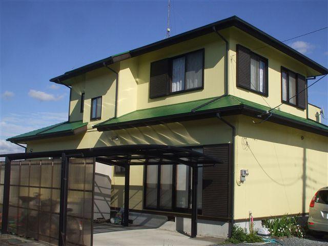 染谷様邸 屋根・外壁塗装工事
